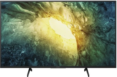 Sony 123cm (49 inch) Ultra HD (4K) LED Smart Android TV(KD-49X7500H)
