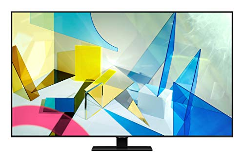 Samsung 138 cm (55 inches) 4K Ultra HD Smart QLED TV QA55Q80TAKXXL (Carbon Silver) (2020 Model)